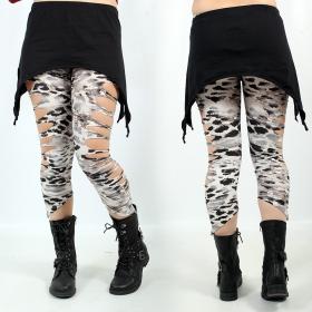 "Legging Liloo \""Yaqui\"", Snow Leopard"