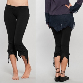 "Legging Luna \""Pointy Pixie\"", Noir"