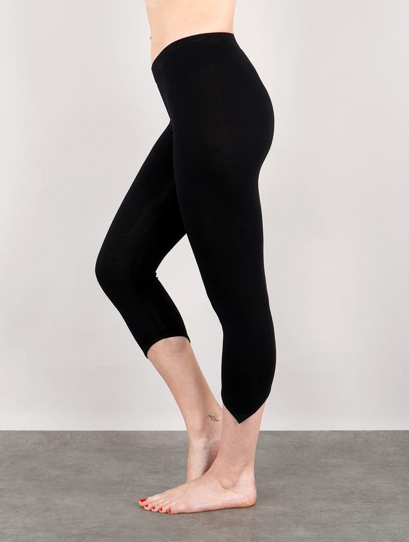 """Legging pointu \""""Shayäa\"""", Noir"""