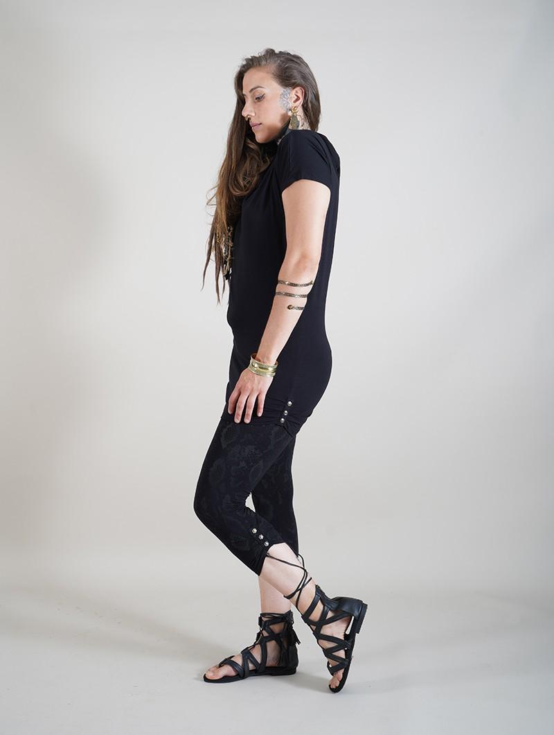 """Leggings \""""Furiosa Snake\"""", Noir"""