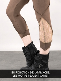 "Leggings ""Keiji"", Taupe"