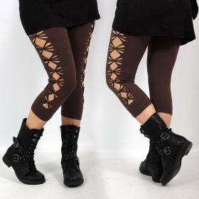 "Leggings ""Shinta\"", Marron"