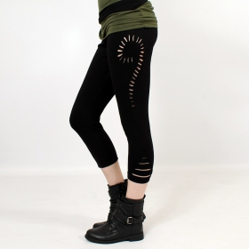"Leggings 3/4 ""Niram\"", Noir"