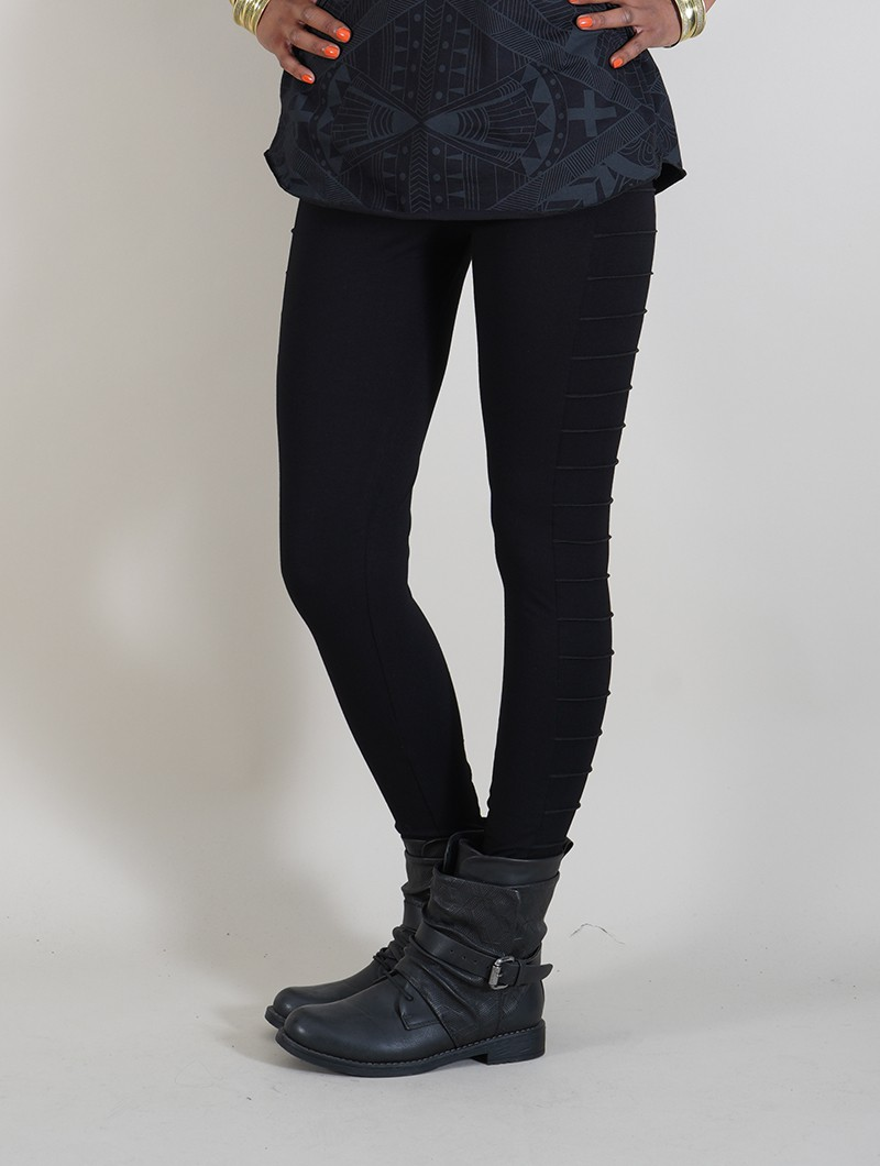 "Leggings long ""Krios\"", Noir"