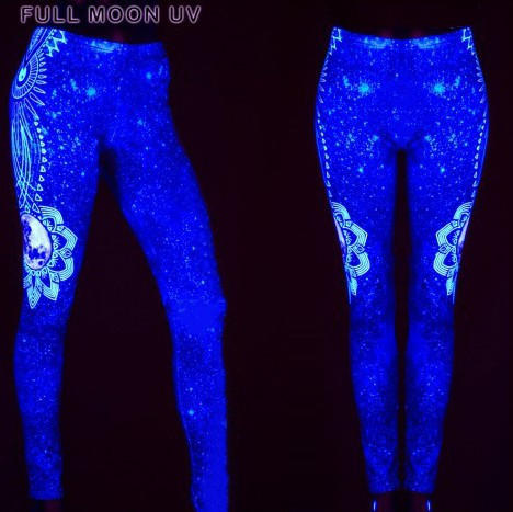 "Leggings UV ""Full Moon\"", Multicolore"
