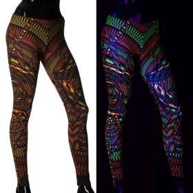 "Leggings UV ""I C Call\"", Multicolore"