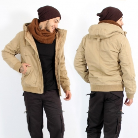 "Manteau Surplus \""Bronx\"", Camel"