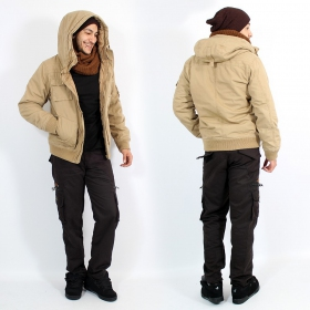 "Manteau Surplus ""Bronx\"", Camel"