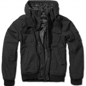 "Manteau Surplus ""Bronx\"", Noir"