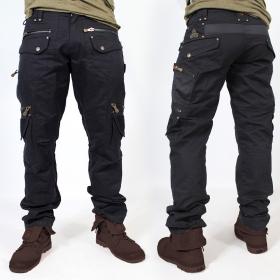 """Pantalon \""""Alternative\"""", Noir"""