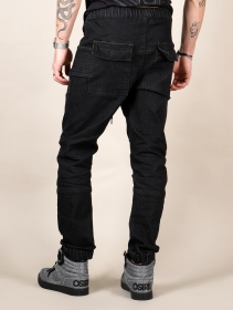 "Pantalon ""Apollo\"", Denim noir"