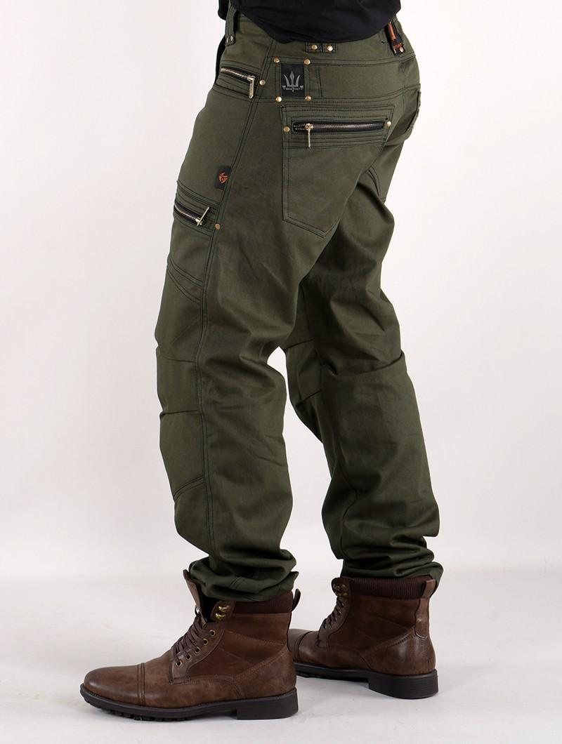"Pantalon \""Daak\"", Vert kaki foncé"