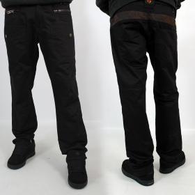 """Pantalon \""""Onixx\"""", Noir"""