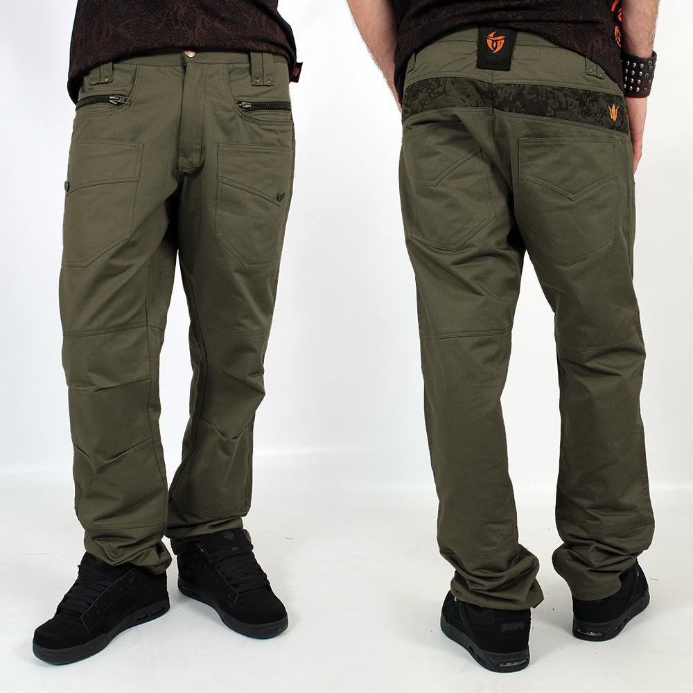 """Pantalon \""""Onixx\"""", Olive"""