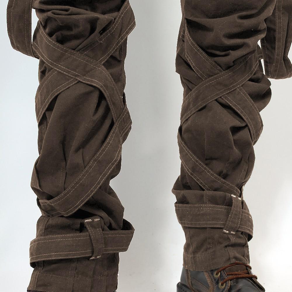 """Pantalon \""""Ottoman\"""", Kaki"""