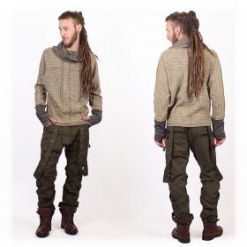 "Pantalon \""Ottoman\"", Taupe"