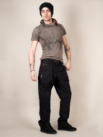 "Pantalon \""Sherlock\"", Noir"