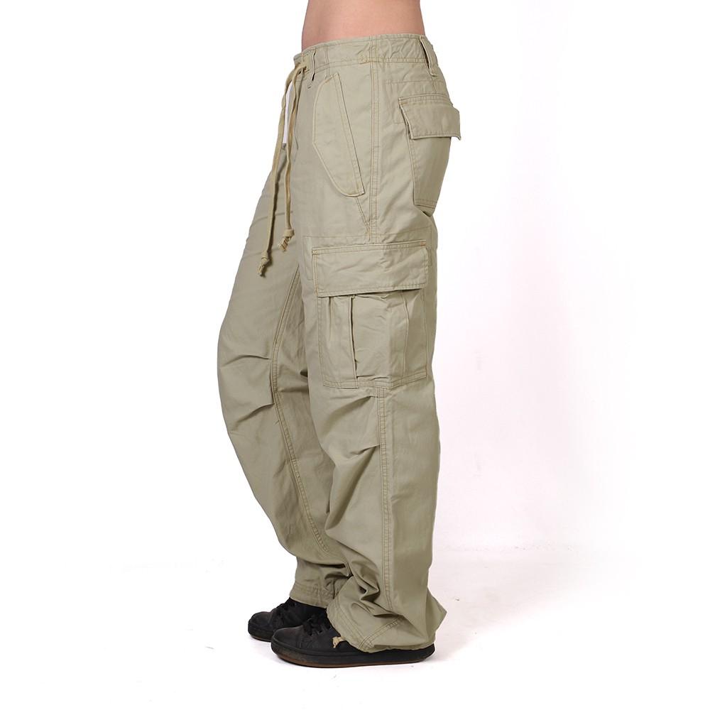 Pantalon baggy Molecule femme, Beige
