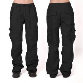 Pantalon baggy Molecule femme, Noir