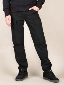 """Pantalon cargo \""""Boromir\"""", Noir"""