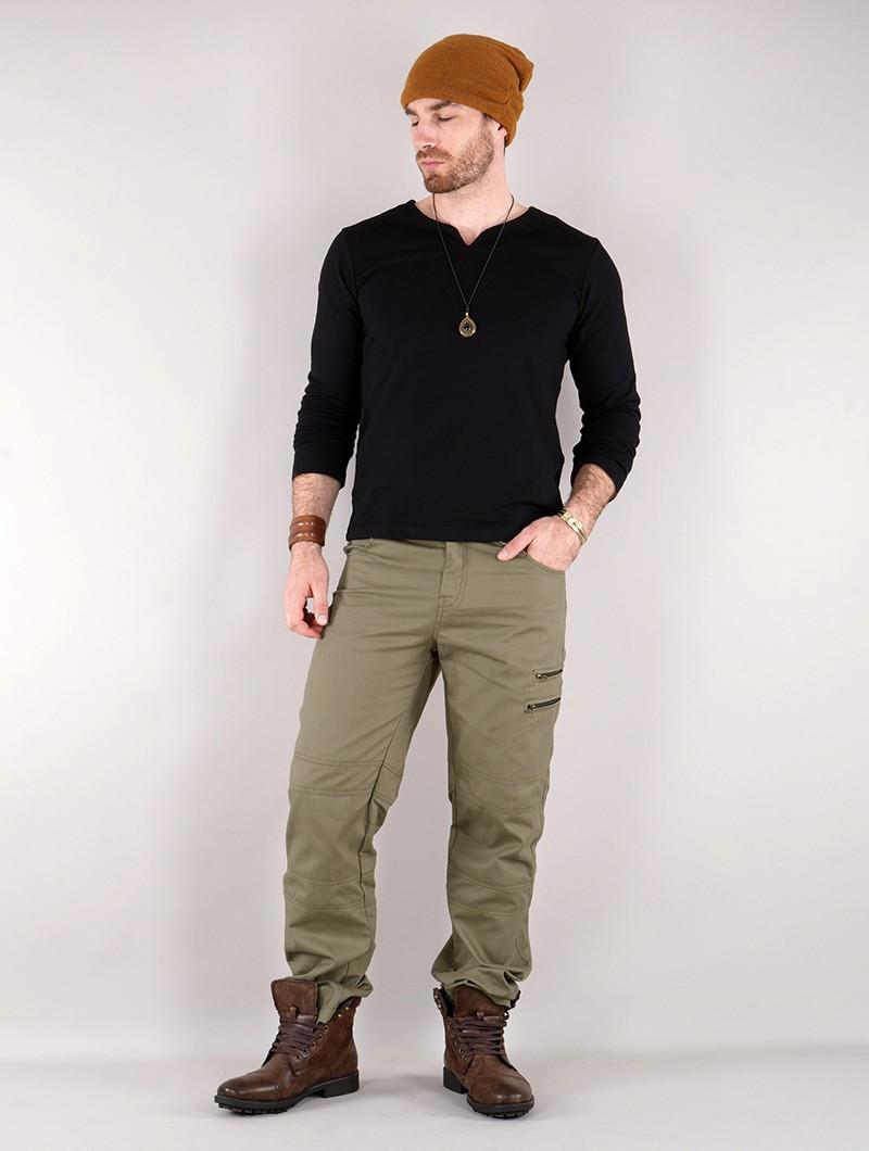 "Pantalon cargo \""Isildur\"", Vert kaki"