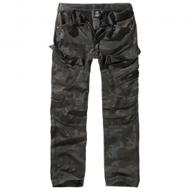 "Pantalon coupe droite ""Cargo Adven\"", Dark camo"