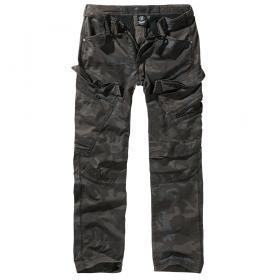 """Pantalon coupe droite \""""Cargo Adven\"""", Dark camo"""