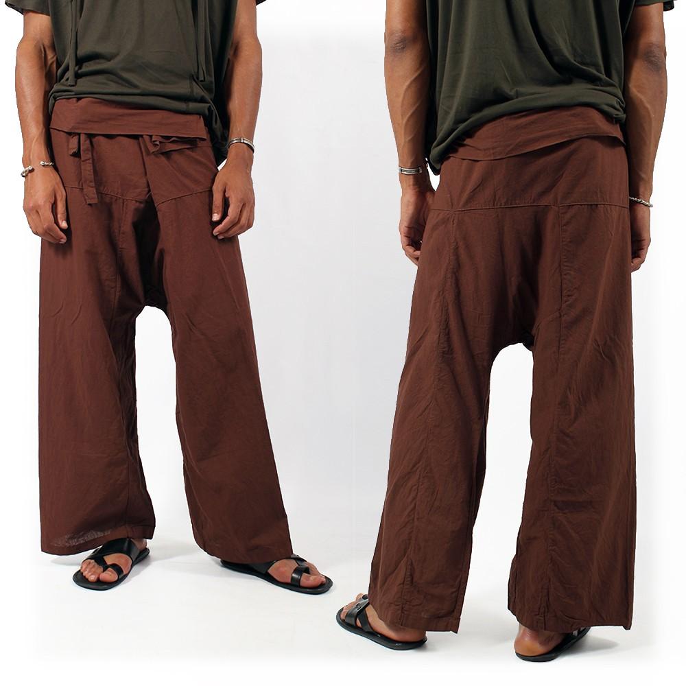 Pantalon de pecheur thai chocolat 32 - Homme   Pantalons - sarouels 8eb5de642fab