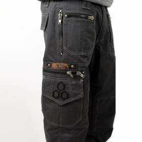 "Pantalon Indian Project \""Vector\\\"", Anthracite"