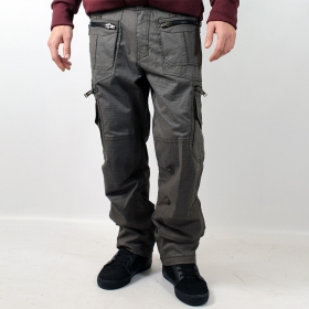 "Pantalon Indian Project \""Vector\\\"", Pixel Gris"