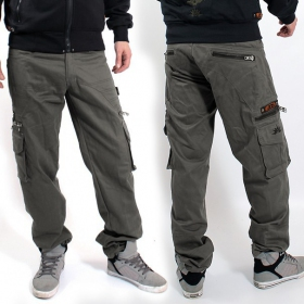 "Pantalon Indian Project \""Wake\\\"", Gris"