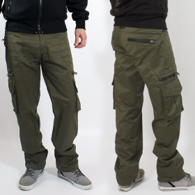 "Pantalon Indian Project \""Wake\\\"", Kaki"