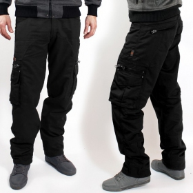 "Pantalon Indian Project \""Wake\\\"", Noir"