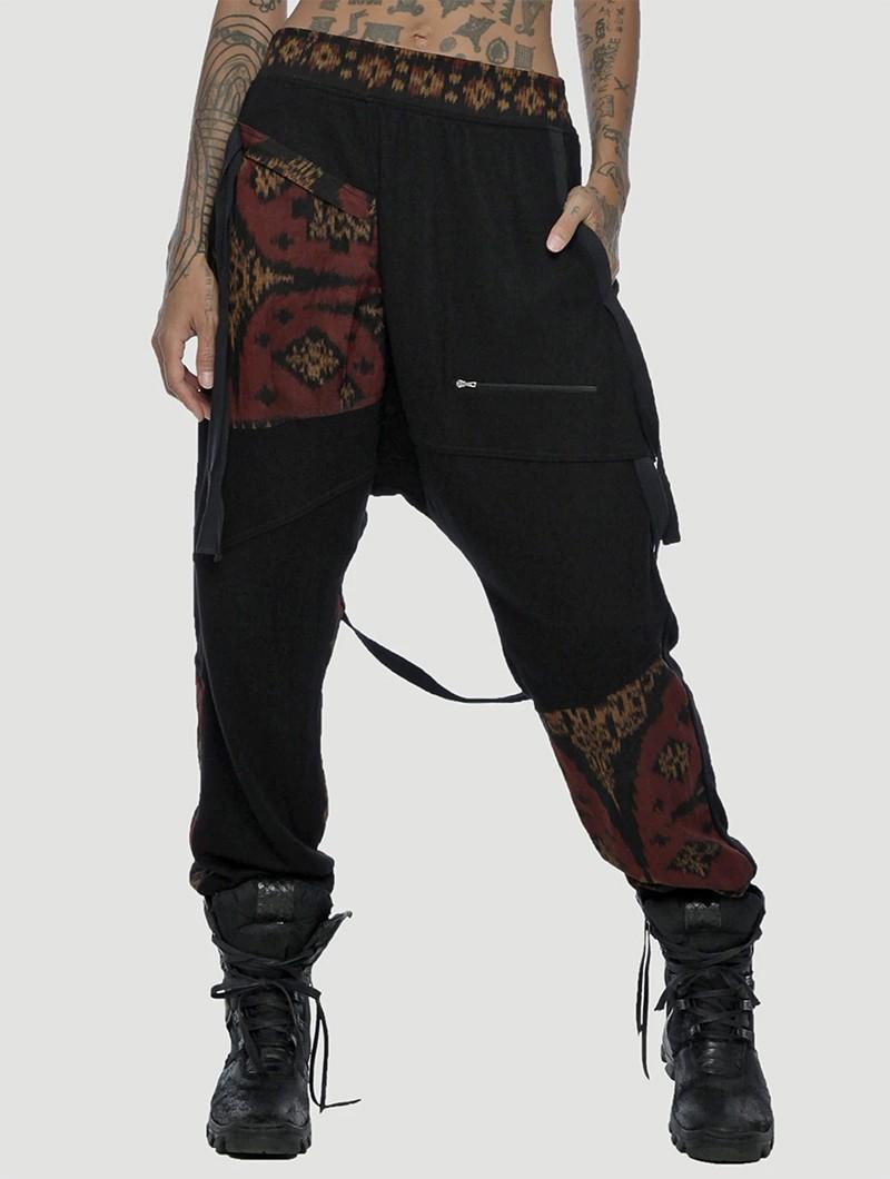 "Pantalon joggers unisexe \""Deck\"", Noir"