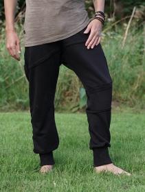"Pantalon jogging \""Akita\"", Noir"