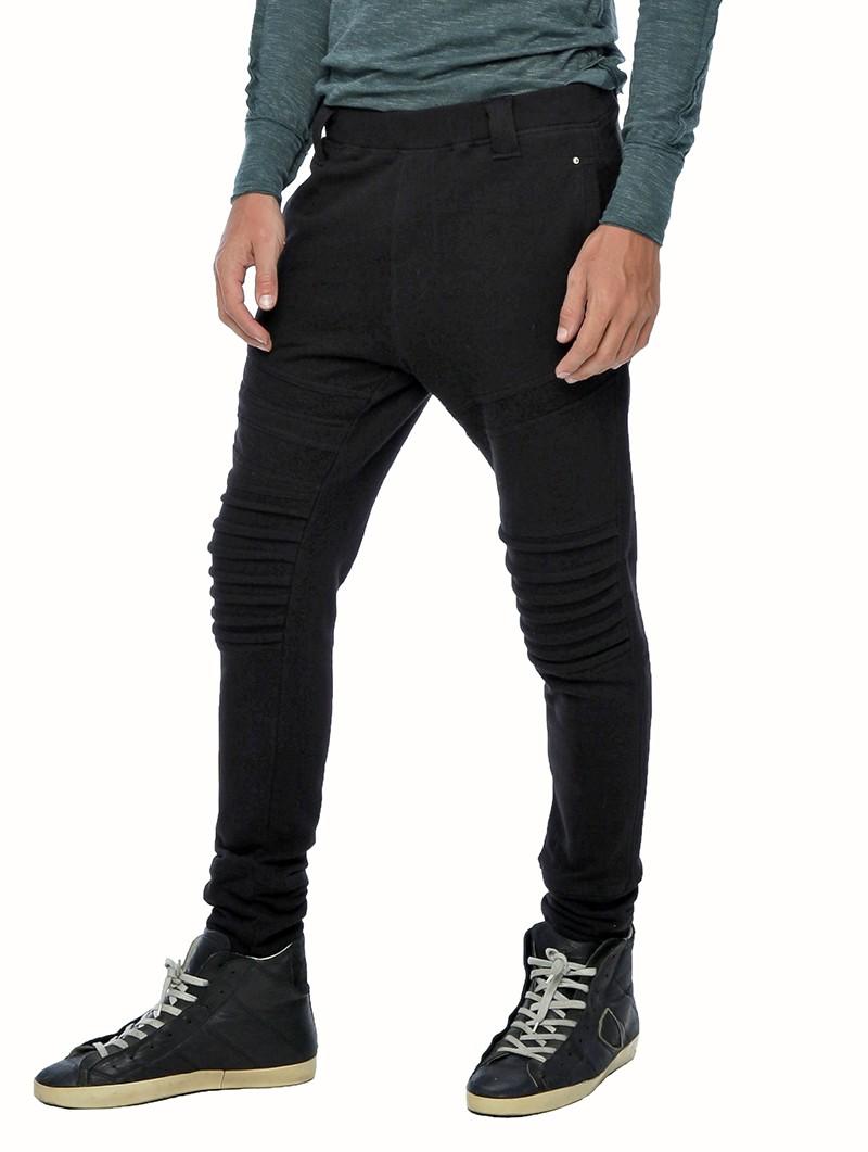 """Pantalon jogging \""""Meta\"""", Noir"""
