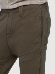 "Pantalon jogging \""Meta\"", Vert kaki"