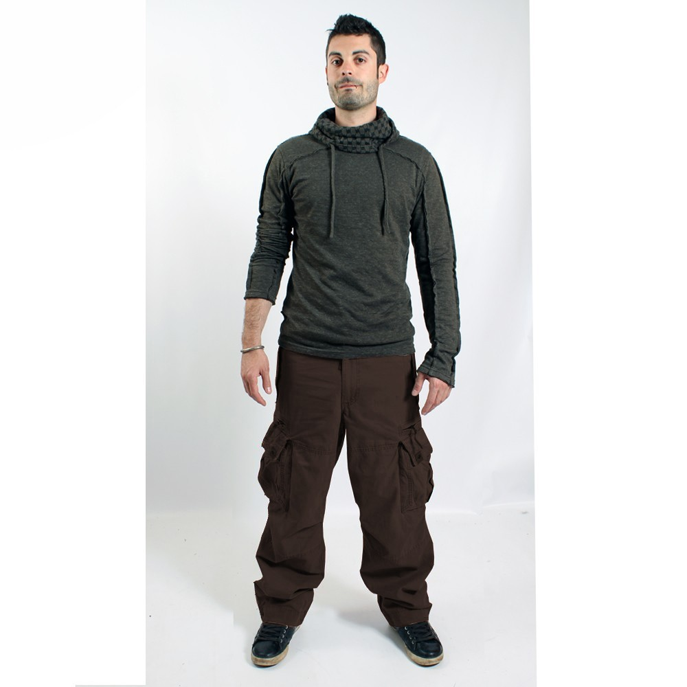 Pantalon Molecule 45019, Marron
