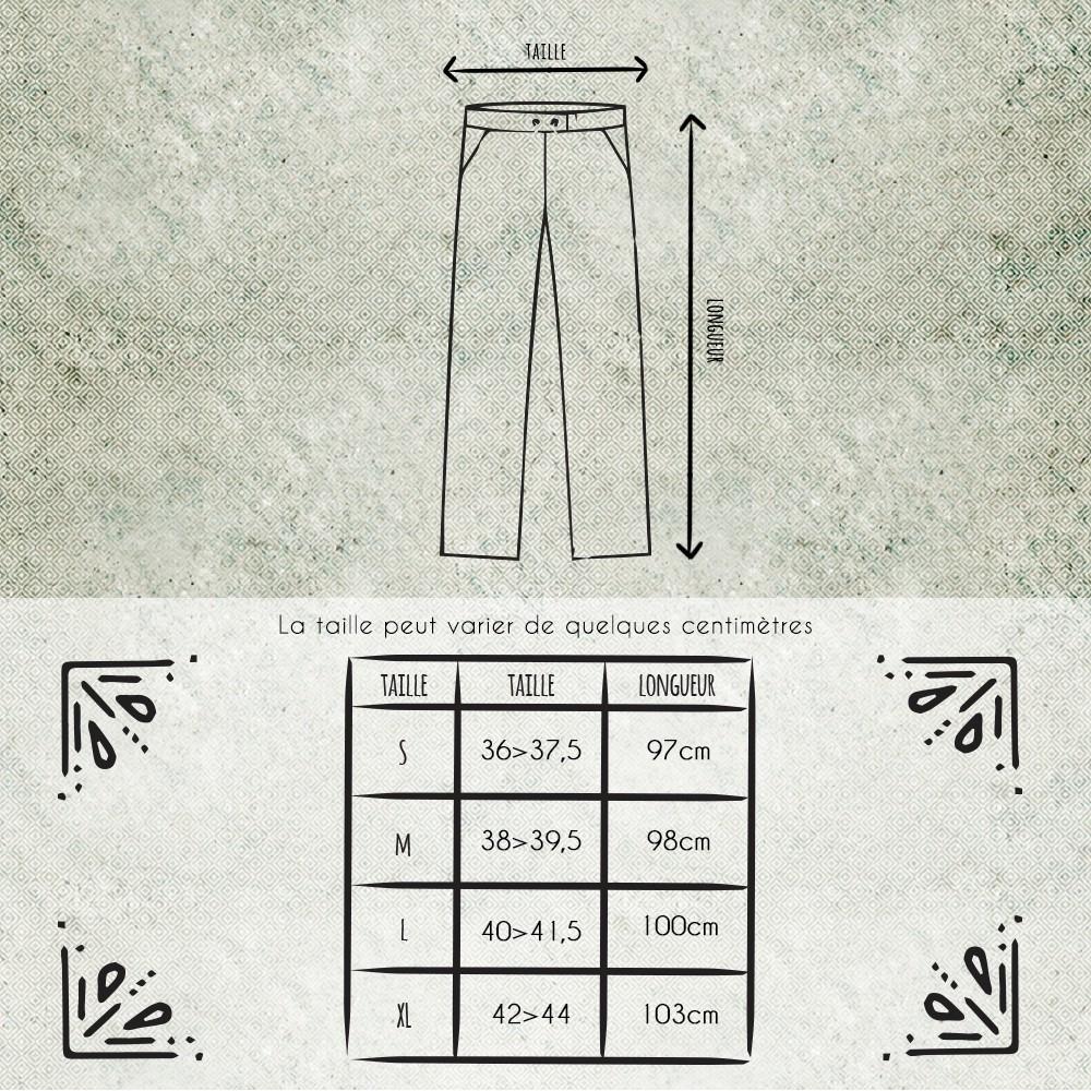Pantalon Molecule 45062, Gris