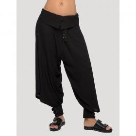 "Pantalon sarouel \""Ray\"", Noir"