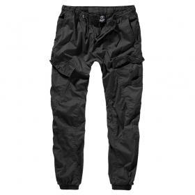 "Pantalon treillis \""Ray\"", Noir"
