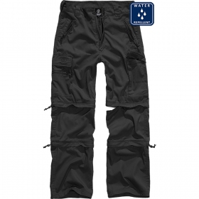 "Pantalon treillis 3in1 ""Cargo Savannah\"", Noir"