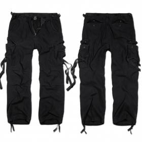 "Pantalon treillis Surplus \""Cargo M65 Vintage\"", Noir"