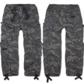 "Pantalon treillis surplus \\\""cargo pure\\\"", dark camo"