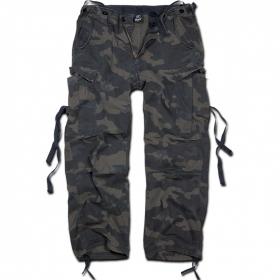 """Pantalon treillis Surplus \""""M65 Vintage\"""", Dark camo"""