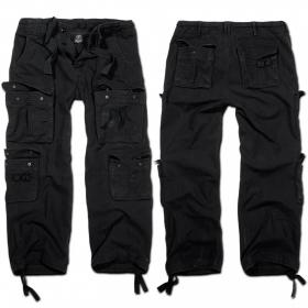 """Pantalon treillis Surplus \""""Pure\"""", Noir"""