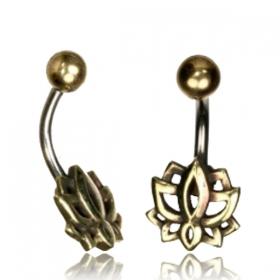"""Piercing nombril \""""Lotus\"""""""