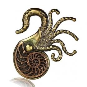 Poids en laiton \\\'\\\'Ammonite\\\'\\\'