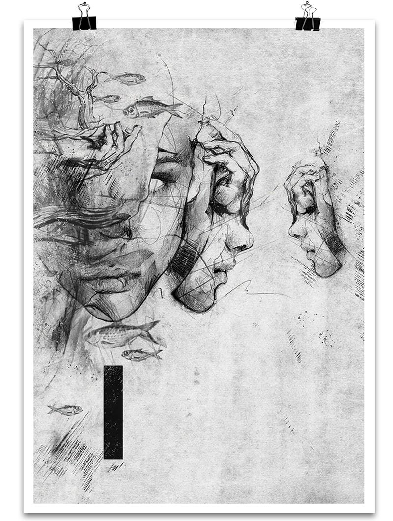 """Poster \""""Atlantis Omega\"""""""