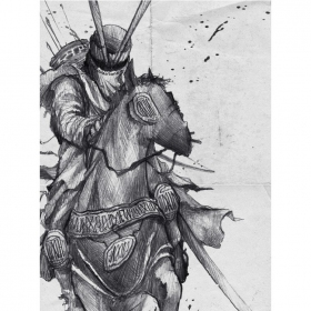"""Poster \""""Knight\"""""""